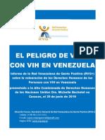 RVG Bachelet Informe Situacion PVVS Venezuela Mayo 2019