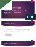 Estudio de riesgos sísmicos y sus usos en Mineria - Presentacion.pptx