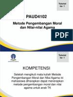 Presentasi Moral Pertemuan 1