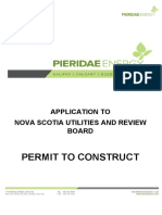 LNG Permit to Construct