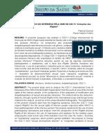 A PATOLOGIZAÇÃO DO INTERSEXO PELA OMS NO CID-11