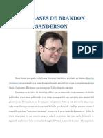 Las Clases de Brandon Sanderson