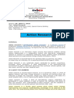 Hand-outs for Action Research