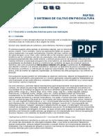 Manual Sobre Manejo de Reservatorios Para a Produção de Peixes