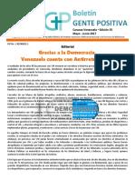 ACCSI Boletin Gente Positiva Edición 35 Mayo Junio 2017 Versión Final