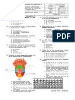 evaluacion de ciencias