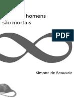 Beauvoir, Simone de - Todos Os Homens São Mortais