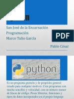 Presentación de Python