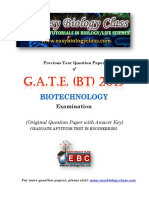 GATE BT 2019 Solved Question Paper