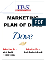 Marketing Plan of Dove(19bsp3252)