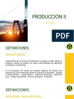 PRODUCCION II - Analisis Nodal y Curvas IPR (Darcy-Vogel)