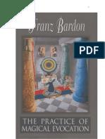 Franz Bardon-Practice of Magical Evocation
