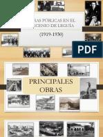 Obras Publicas en El Oncenio
