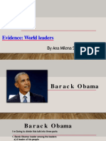 Evidence  World leaders.pptx