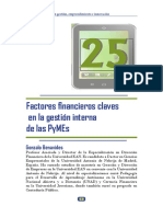 Factores financieros claves