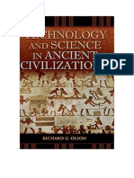 Tecnología y ciencia en las civilizaciones ancestrales