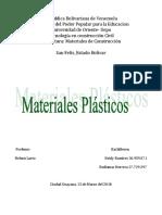 Materiales-plásticos
