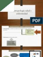 Antropología Salud y Enfermedad