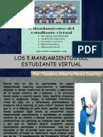 5 Mandamientos Del Estudiante Virtual