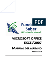 Manual Excel Nivel i - Inicial 2017