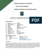 Silabo Cristalografia 2019 - II