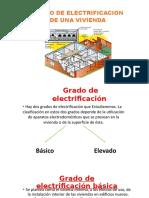 Grado de Electrificacion de Una Vivienda