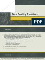 Tour Costing Exercises (Philippines)