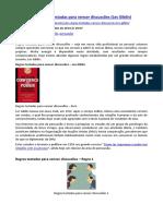 ARTIGO - NEGOCIAÇÃO - Seis regras testadas para vencer discussões (Les Giblin).docx