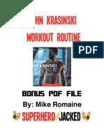 John Krasinski PDF