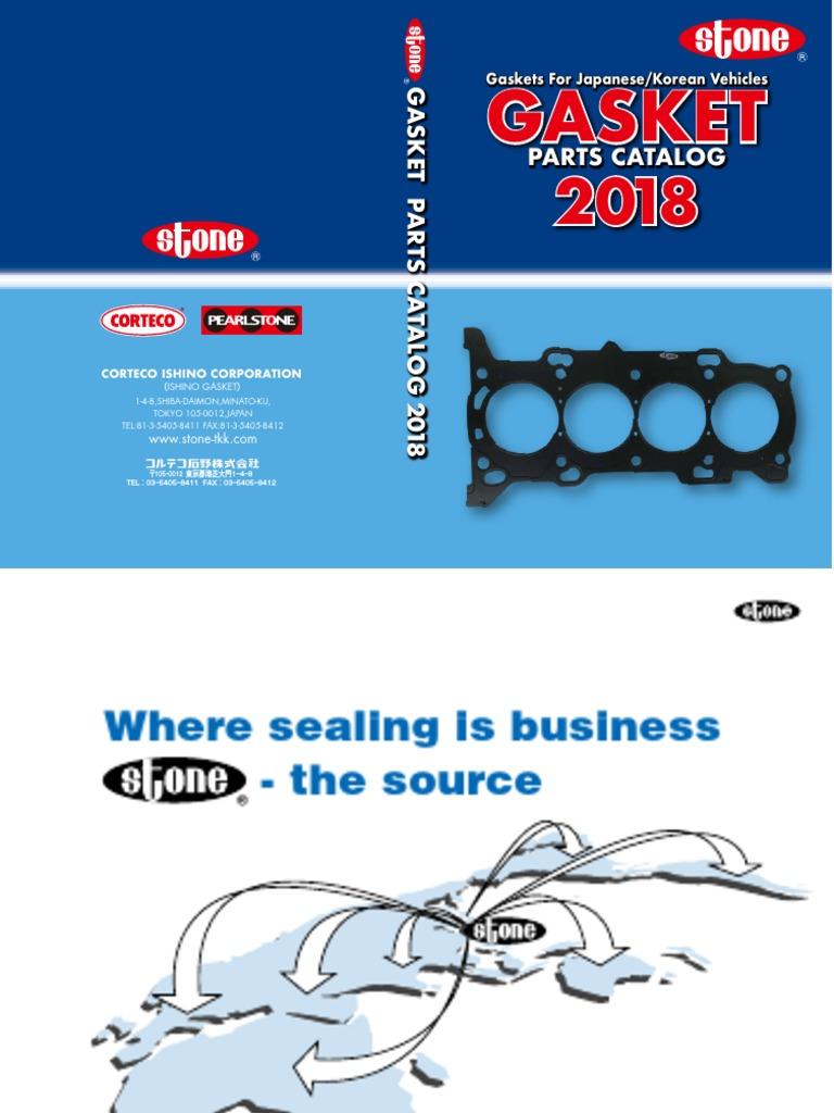 Toyota 17177-11021 Engine Intake Manifold Gasket