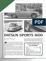 RT May 1967 Datsun 1600