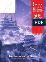 l5r The scroll or the blade Marketing