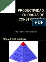 PRODUCTIVIDAD EN OBRAS