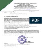 Surat Ijin Provinsi Pasca EHB SMA 2019 Angkatan 1