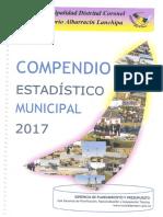 compendio estadístico municipal 2017