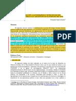 Una Aproximación a Las Demandas y Estrategias Del Movimiento Lésbico-gay Argentino en El Período 1967-1976