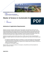 Hamad Bin Khalifa University - Master of Science in Sustainable Energy - 2018-11-05