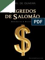 Segredos de Salomão - Daniel de Oliveira (KS)