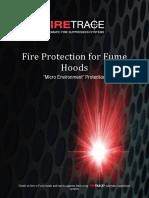 Firetrace - Fume Hoods