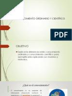 CLASE # 3 CONOCIMIENTO GENERAL Y CONOCIMIENTO CIENTÍFICO .pptx
