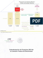 CFE Proyectos 2014