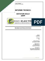 OS 2043955 MOTOR 20HP Estator Pequeño