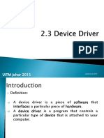 2.3 Device Driver.pptx