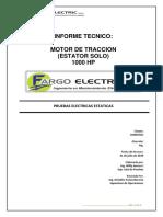 OS 2049286 MOTOR de TRACCION-estator Solo Antes Del Vpi 1000HP