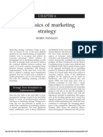 Basics of Marketing Strategy