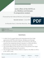 The Economic Effect of the DCFTA on Ukraine Moldova and Georgia – a Comparative Analysis