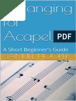 Arranging for Acapella