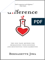 Difference – The one-page method for reimagining your business and reinventing your marketing.pdf