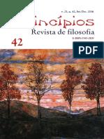 Revista de Filosofia - Princípios 42
