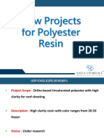 New Polyester Projects 2019